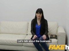 Fake Agent Sexy Amateur With petite Boobs Tries Adult industry