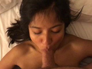 What a blowjob! I met this girl on tinder and the sex was so intense and orgasmic @VivaAthenaX