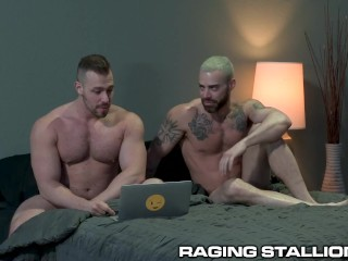 RagingStallion – Max Konnor's Eats Ass While His Monster Dick Is Sucked