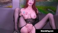 Cougar porn redhead brittany Sex crazy canadian cougar shanda fay fucks her mature muff until she cums