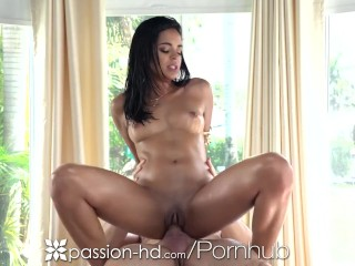 PASSION-HD Explosive Facial With Beautiful Vienna Black