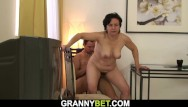 Mature woman sample Old woman loves to fuck with young
