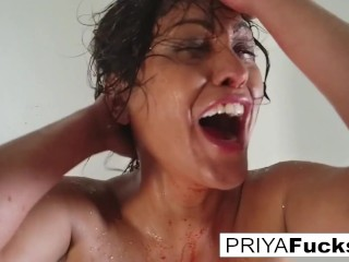 Halloween tease with MILF Priya Rai!