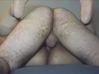Asian BBW Gets Double Creampie in Missionary Position from Class Friend