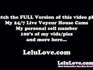 Behind the scenes PORN VLOG of lactation and finger fucking and a big facial cumshot and JOI and Orgasms and more - Lelu Love
