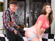 She Wants This Grandpa To Be Her Sugar Daddy
