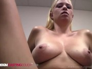 Curvy Young Cutie Stacy Gets Pounded For Porn Job!