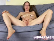 Naked babe giving you CLOSE-UP sexual educational instructional tutorial how to eat pussy beCUM a cunnlingus pro - Lelu Love