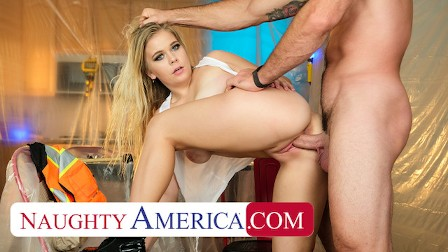 Naughty America - Percy Sires takes a break from work to get pounded by friend s dad