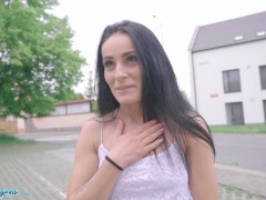 Public Agent Thin Stunner Lexi Dona Showcases Off Her Tits