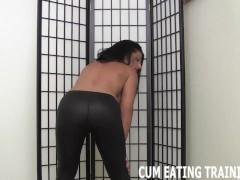 Cum Eating Femdom And CEI Masturbation Videos