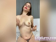 Behind scenes PORNO VLOG with nylons JOI cum eating instruction lactating Oily Soles Feet and lots more... - Lelu Love