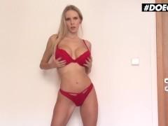 Doegirls - Florane Russell Big Tits Czech Slut Sensual POV Cock Sucking In Homemade Video