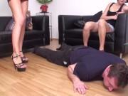 arrogant young femdom girls humiliate slave