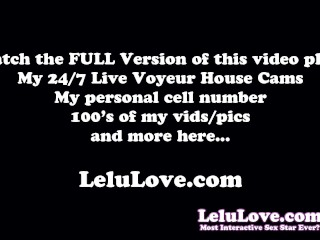 Behind the scenes blowjob & facial cumshot in pigtails & glasses in live cam show and wipe off and clean up after - Lelu Love