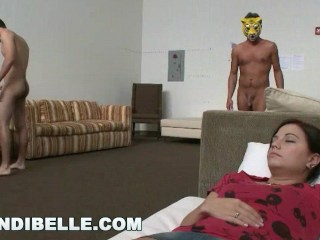 BRANDI BELLE - While We Took A Nap, These Creepy Critters Came Out To Play