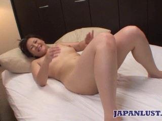 Japanese MILF pussy and ass teased