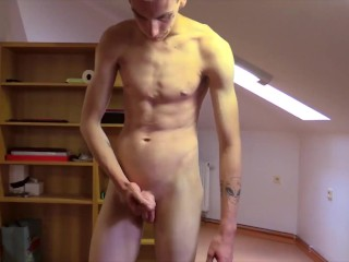 CZECH HUNTER – Straight Handsome Guy David Gets His Ass Fucked Hard First Time