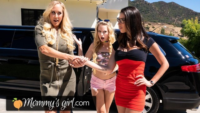 She Loves A Threesome With Her BFF And Her Stepdaughter