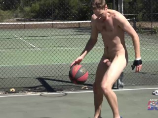 Nick Gets Totally Naked In Public In Australian and Shows Us What He's Got