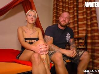 SexTapeGermany – Sandy Fire Horny German MILF Rough Pussy Fuck With Boyfriend On Camera – AMATEUREURO