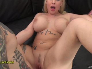 ULTRA HORNY BABE with GREAT TITS & MASSIVE ROUND ASS CUMS MULTIPLE TIMES CLOSE UP – Kyra Hot is a Nympho!