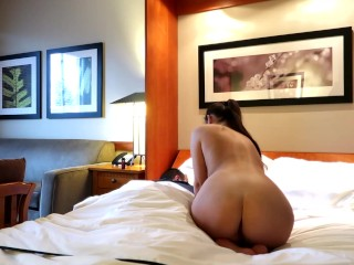 Our Hotel Room Catches Morning Sex (gh0stgirl)