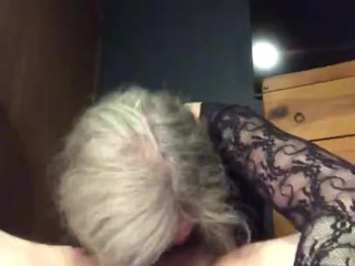 Hot Mature PAWG MILF GILF Getting 69 Deep Throat Fucked Before Riding Cowgirl Bareback