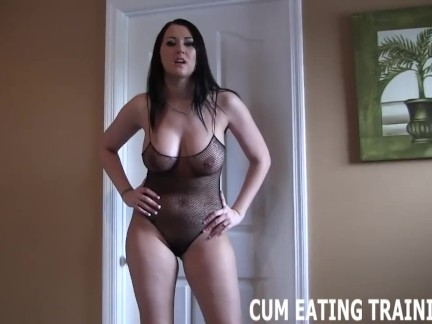 'Cum Eating Instructions And POV Femdom Videos'