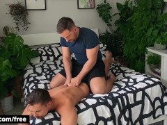 Bromo – Jonas Jackson Gives Austin Sugar A Massage But After Seeing His Bubble Booty Gets Horny