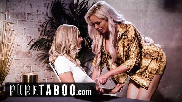 Emma Wants to Have Sex with Her Busty Lesbian Boss for Mysterious Reasons