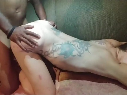 Thot in Texas creamy creampie tatooed skinny milf