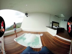 VRLatina - Stunning Latin Babe Fucks You In Hotel Hideaway - VR