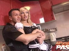 Maid Gorgeous Whore Donna Bell Cunt Eaten And Cock Sucking