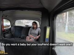 Fake Taxi Black Haired Hottie Klaudia Diamond Sucks and Fucks on the Backseat