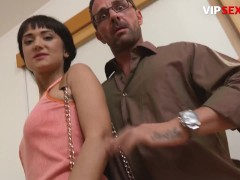 ExposedCasting - Angie Moon Skinny Russian Babe First Intense Fucking On Camera