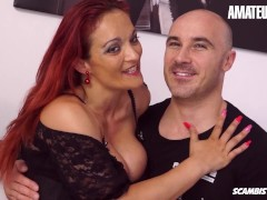 ScambistiMaturi - Mary Ryder Voluptuous Italian MILF Gets Her Holes Filled With Big Cock