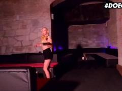 DOEGIRLS - Jenny Wild Young Czech Slut Sloppy Blowjob On Her Lunch Break