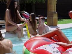 PrivateBlack - Anya Krey Talia Mint Scarlet & Anastasia Brokelyn Do 4 BBCs!