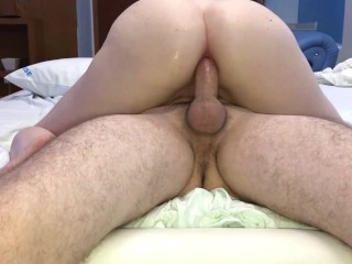 Daddy taking care of my ass. (Anal only)