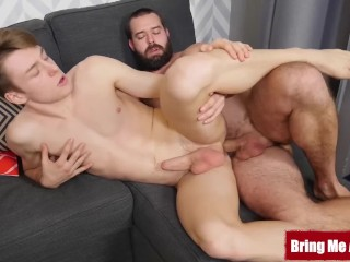 Beautiful Twink Hammered By Wild Hunk
