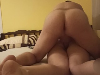 PAWG MILF rides til orgasm then fucked like theres no tomorrow
