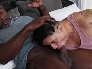 Latino Cub Blows His Black Daddy