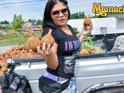 CarneDelMercado - Vick Valencia Voluptuous Colombian Teen Hardcore Pussy Fuck With Stranger - MAMACITAZ