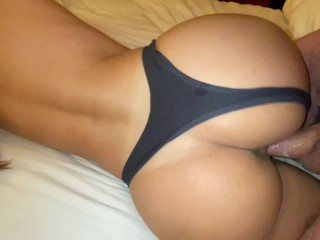 Babe, I need that hot sticky cum all over my ass – Real Amateur