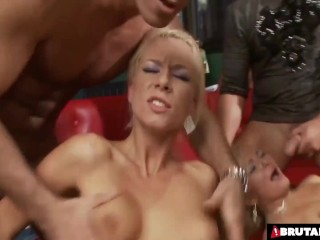 Unbelievable Gang Bang Party At The Bar