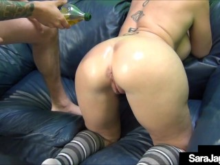 Pussy Leaking PAWG Sara Jay Cums While She Has A Cock Inside Her Lovehole!Sara Jay, busty, cougar,Big-Tits, oil, Big-Ass, Hu