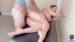 Big Ass MILF didn't expect Deep Hard Anal Sex after Erotic Massage