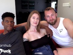Bryce And Pax Rim Each Other Before Going All In On Big Titty Teen Riley!