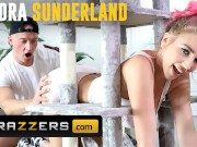 Brazzers - Busty tattoed Clumsiest Girl Kendra Sunderland is a big stuck with ass out and floppy tits shacking